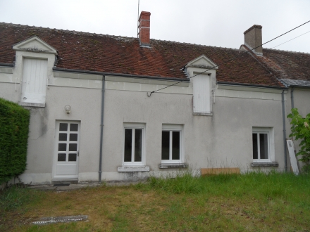 Location Maison avec jardin 3 pièces Oisly (41700) - entièrement rénovée
