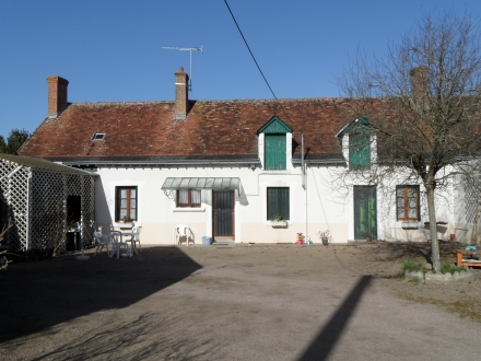 Location Maison avec jardin 4 pièces Couddes (41700)