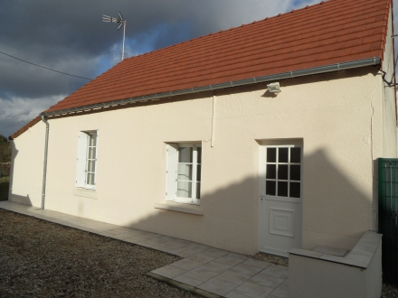 Location Maison 2 pièces Saint-Romain-sur-Cher (41140)