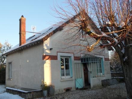 Location Maison avec jardin 5 pièces Contres (41700) - PROCHE CENTRE