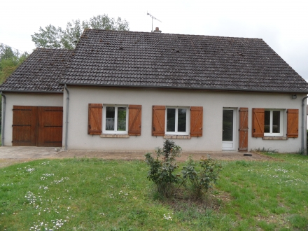 Location Maison 3 pièces Contres (41700) - PROCHE CENTRE BOURG