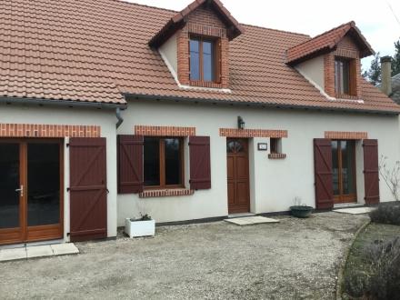 Location Maison de village 5 pièces Marcilly-en-Gault (41210) - Proche toutes commodités