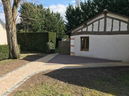 Location Maison avec jardin 2 pièces Cheverny (41700) - au calme