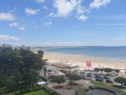 Location Appartement 3 pièces La Baule-Escoublac (44500) - quartier de l'Hotel Royal, face mer