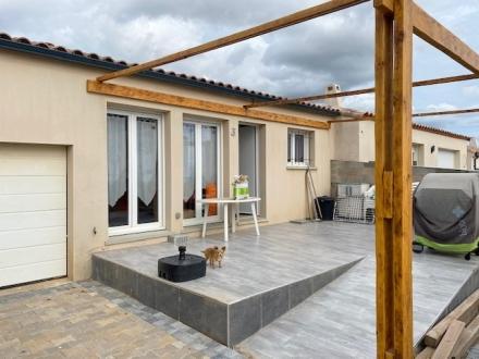 Location Maison avec jardin 4 pièces Saint-Thibéry (34630) - rue de Grenache, SAINT THIBERY