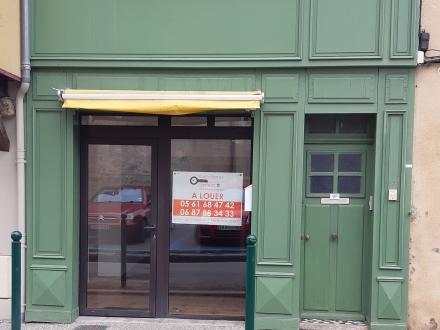 Location Local commercial 2 pièces Mirepoix (09500) - Centre ville
